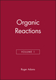 Organic Reactions, Volume 1 (0471004626) cover image
