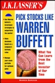 J.K. Lasser's Pick Stocks Like Warren Buffett (0471225126) cover image