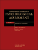 Comprehensive Handbook of Psychological Assessment, Volume 2, Personality Assessment (0471416126) cover image