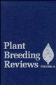 Plant Breeding Reviews, Volume 14 (0471573426) cover image
