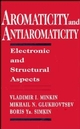 Aromaticity and Antiaromaticity: Electronic and Structural Aspects (0471593826) cover image