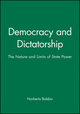 Democracy and Dictatorship: The Nature and Limits of State Power (0745619126) cover image