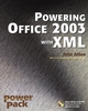 Powering Office 2003 with XML (0764541226) cover image