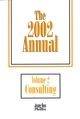 The 2002 Annual, Volume 2, Consulting  (0787959626) cover image