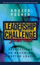 The Leadership Challenge Journal: Reflections on Becoming a Better Leader  (0787968226) cover image
