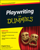 Playwriting For Dummies (1118017226) cover image