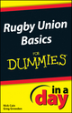 Rugby Union Basics In A Day For Dummies (1118380126) cover image