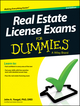 Real Estate License Exams For Dummies, 2nd Edition (1118572726) cover image