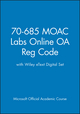 70-685 MOAC Labs Online OA Reg Code with Wiley eText Digital Set