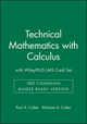 Technical Mathematics with Calculus, 3rd Canadian Binder Ready Version with WileyPLUS LMS Card Set (1119323126) cover image