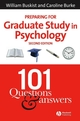Preparing for Graduate Study in Psychology: 101 Questions and Answers, 2nd Edition (1405140526) cover image