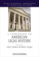 A Companion to American Legal History (1444331426) cover image