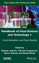 Handbook of Food Science and Technology 1: Food Alteration and Food Quality (1848219326) cover image