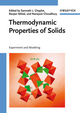 Thermodynamic Properties of Solids: Experiment and Modeling (3527408126) cover image