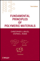 Fundamental Principles of Polymeric Materials, 3rd Edition (0470505427) cover image