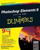 Photoshop Elements 8 All-in-One For Dummies (0470543027) cover image