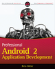 Professional Android 2 Application Development (0470565527) cover image