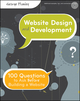 Website Design and Development: 100 Questions to Ask Before Building a Website (0470889527) cover image