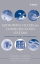 Microwave Filters for Communication Systems : Fundamentals, Design and Applications  (0471450227) cover image