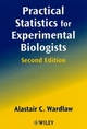 Practical Statistics for Experimental Biologists, 2nd Edition (0471988227) cover image