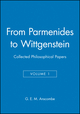 From Parmenides to Wittgenstein, Volume 1: Collected Philosophical Papers (0631129227) cover image