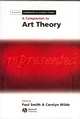 A Companion to Art Theory (0631207627) cover image
