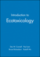 Introduction to Ecotoxicology (0632038527) cover image