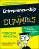 Entrepreneurship For Dummies (0764552627) cover image