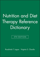 Nutrition and Diet Therapy Reference Dictionary, 5th Edition (0813810027) cover image