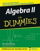 Algebra II For Dummies (1118429427) cover image