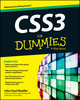 CSS3 For Dummies (1118441427) cover image