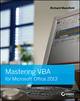 Mastering VBA for Microsoft Office 2013 (1118695127) cover image
