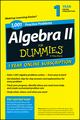 1,001 Algebra II Practice Problems For Dummies Access Code Card (1-Year Subscription) (1118843827) cover image