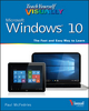 Teach Yourself VISUALLY Windows 10 (1119057027) cover image