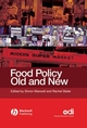Food Policy Old and New (1405126027) cover image