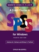 A Crash Course in SPSS for Windows: Updated for Versions 14, 15, and 16 , 4th Edition (1405184027) cover image