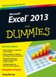 Excel 2013 für Dummies (3527676627) cover image