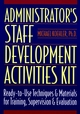 Administrator's Staff Development Activities Kit (0136798128) cover image