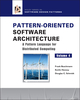 Pattern-Oriented Software Architecture, Volume 4, A Pattern Language for Distributed Computing (0470059028) cover image