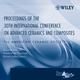 Proceedings of the 30th International Conference on Advanced Ceramics and Composites (0470117028) cover image