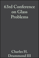 63rd Conference on Glass Problems: Ceramic Engineering and Science Proceedings, Volume 24, Issue 1 (0470295228) cover image