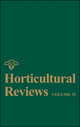 Horticultural Reviews, Volume 35 (0470386428) cover image