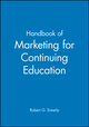 Handbook of Marketing for Continuing Education (0470623128) cover image