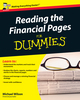 Reading the Financial Pages For Dummies (0470714328) cover image