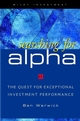 Searching for ALPHA: The Quest for Exceptional Investment Performance (0471348228) cover image