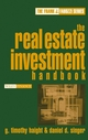 The Real Estate Investment Handbook (0471649228) cover image