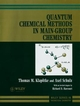 Quantum Chemical Methods in Main-Group Chemistry (0471972428) cover image