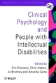 Clinical Psychology and People with Intellectual Disabilities (0471976628) cover image