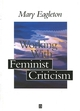 Working with Feminist Criticism (0631194428) cover image