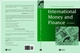International Money and Finance, 3rd Edition (0631204628) cover image